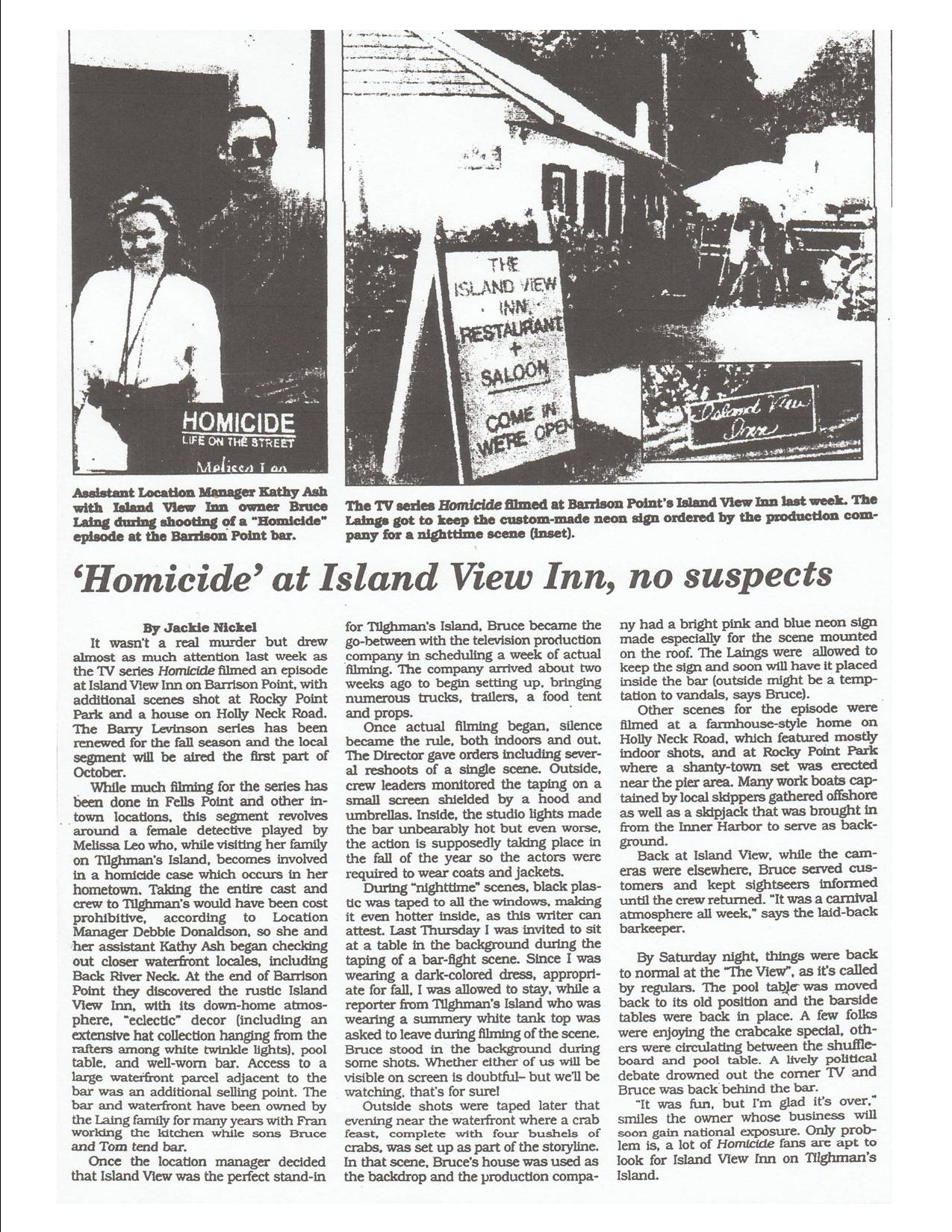 Homicide article